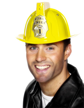 Flashing Firemans Helmet
