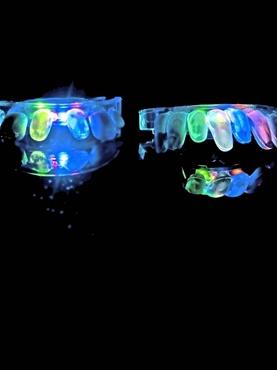 Flashing Light Up & Glow Mouth Piece