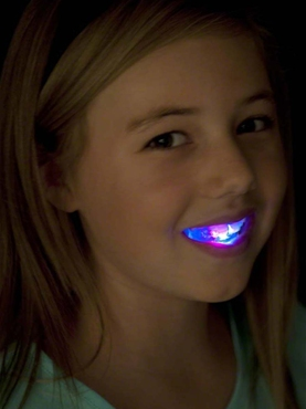 Flashing Light Up Mouth Piece