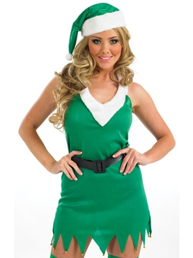 Adult Flirty Elf Costume Thumbnail