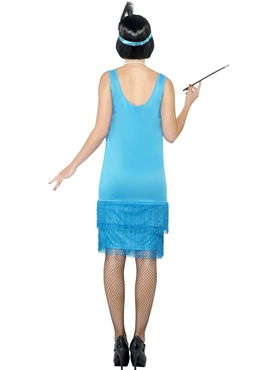 Adult Flirty Flapper Costume - Side View
