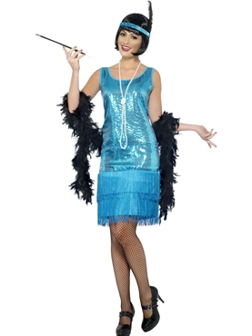 Adult Flirty Flapper Costume
