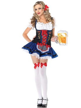 Adult Flirty Frauline Costume
