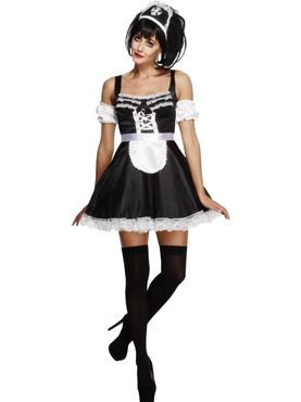 Adult Flirty French Maid Costume
