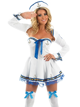 Adult Flirty Sailor Costume