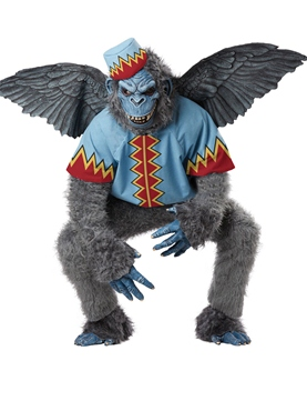 Adult Deluxe Flying Monkey Costume