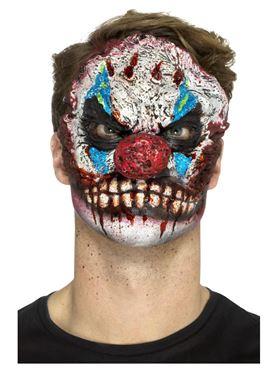 Foam Latex Clown Head Prosthetic - Side View