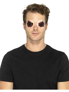 Foam Latex Zombie Eye Prosthetic - Back View