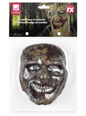 Foam Latex Zombie Face Prosthetic - Side View