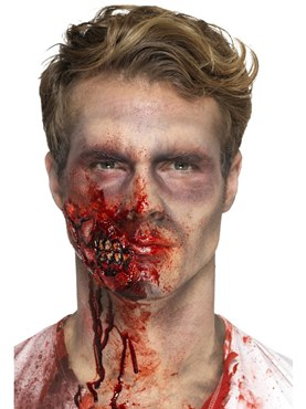 Foam Latex Zombie Jaw Prosthetic