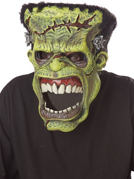Frankenstein Ani-Motion Mask - Side View