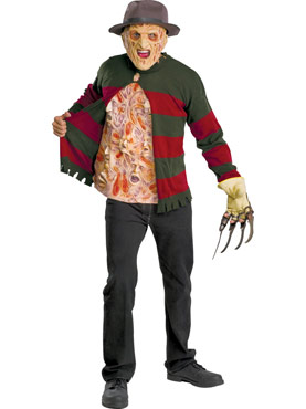 Adult Freddy Krueger Chest of Souls Costume