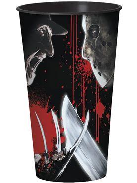 Freddy vs Jason Plastic Cup