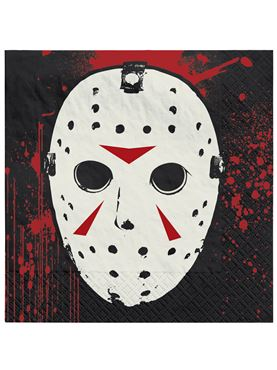 Friday The 13th Napkin Set