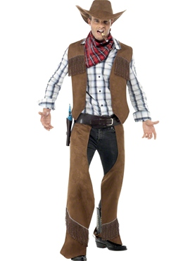 Adult Fringe Cowboy Costume