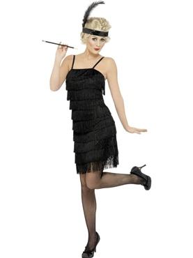 Adult Fringe Flapper Costume