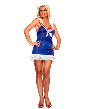 Adult Frisky First Mate Sailor Costume