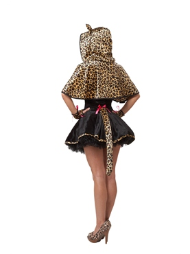 Adult Frisky Kitty Costume - Back View