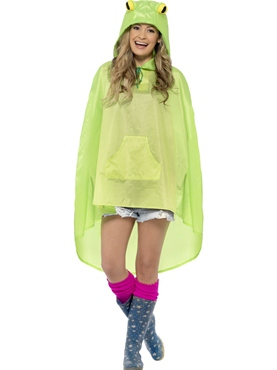 Frog Party Poncho Festival Costume