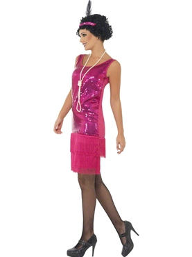 Funtime Flapper Costume - Back View