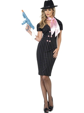 Adult Ladies Gangster's Moll Costume