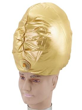 Gold Turban Bh158 Fancy Dress Ball