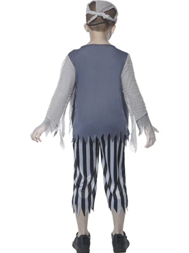Child Ghost Ship Boy Costume - Side View