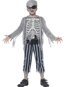 Child Ghost Ship Boy Costume Thumbnail