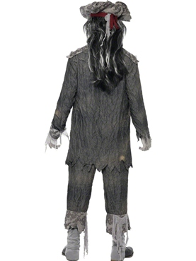 Adult Ghost Ship Ghoul Costume - Side View
