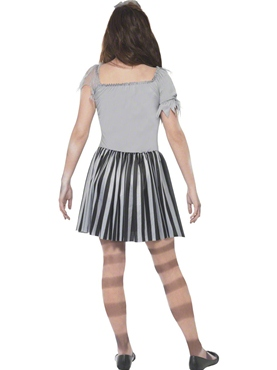 Child Ghost Ship Pirate Girl Costume - Side View