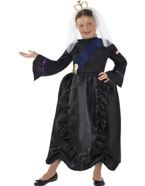 Child Horrible Histories Queen Victoria Costume
