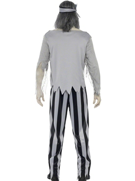 Adult Ghost Ship Pirate Shipmate Costume - Side View
