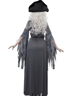 Adult Ghost Ship Princess Costume - Side View