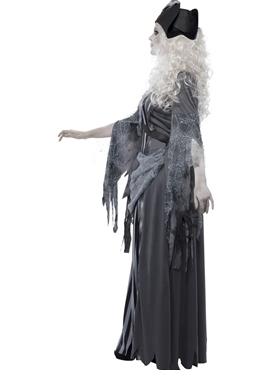 Adult Ghost Ship Princess Costume - Back View