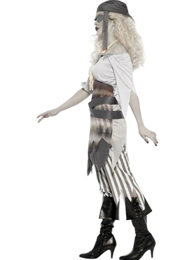 Adult Ghost Ship Shipwrecked Sweetie Costume - Back View