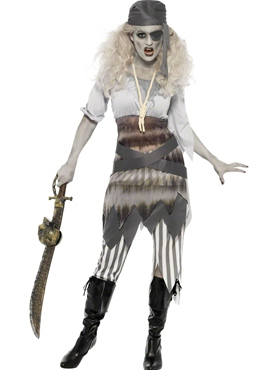 Adult Ghost Ship Shipwrecked Sweetie Costume