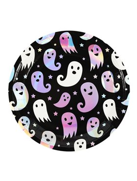 Ghost Tableware Party Print Plates