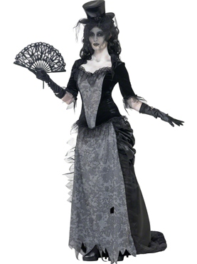 Adult Ghost Town Black Widow Costume