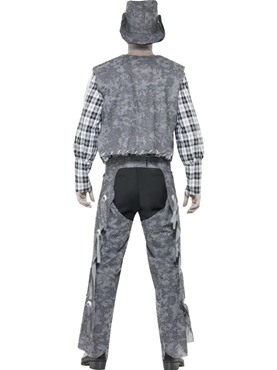 Adult Ghost Town Cowboy Costume - Side View