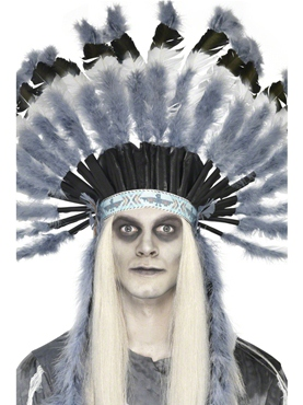 Adult Deluxe Ghost Town Indian Headdress