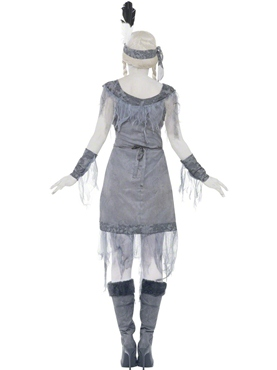 Adult Ghost Town Indian Princess Costume - Side View