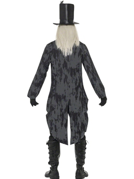 Adult Ghost Town Undertaker Costume - Side View