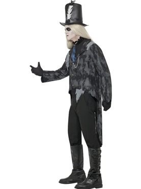 Adult Ghost Town Undertaker Costume - Back View