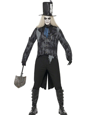 Adult Ghost Town Undertaker Costume Thumbnail