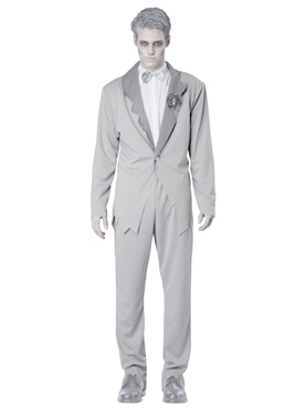 Adult Ghostly Groom Costume