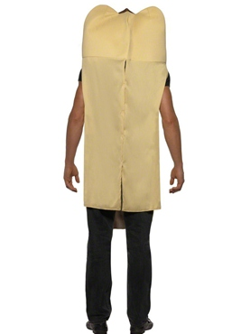 Adult Giant Hot Dog Costume - Side View