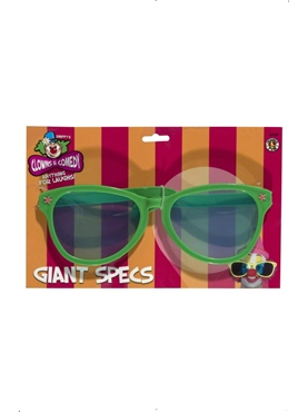 Giant Sunglasses Bright Assorted - Back View