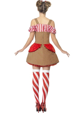 Gingerbread Woman Costume - Side View