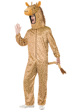 Adult Giraffe Costume Couples Costume