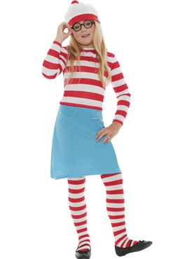 Child Where's Wally Wenda Costume